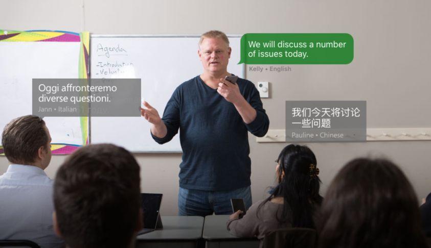 È ora disponibile la traduzione in tempo reale — Microsoft Translator