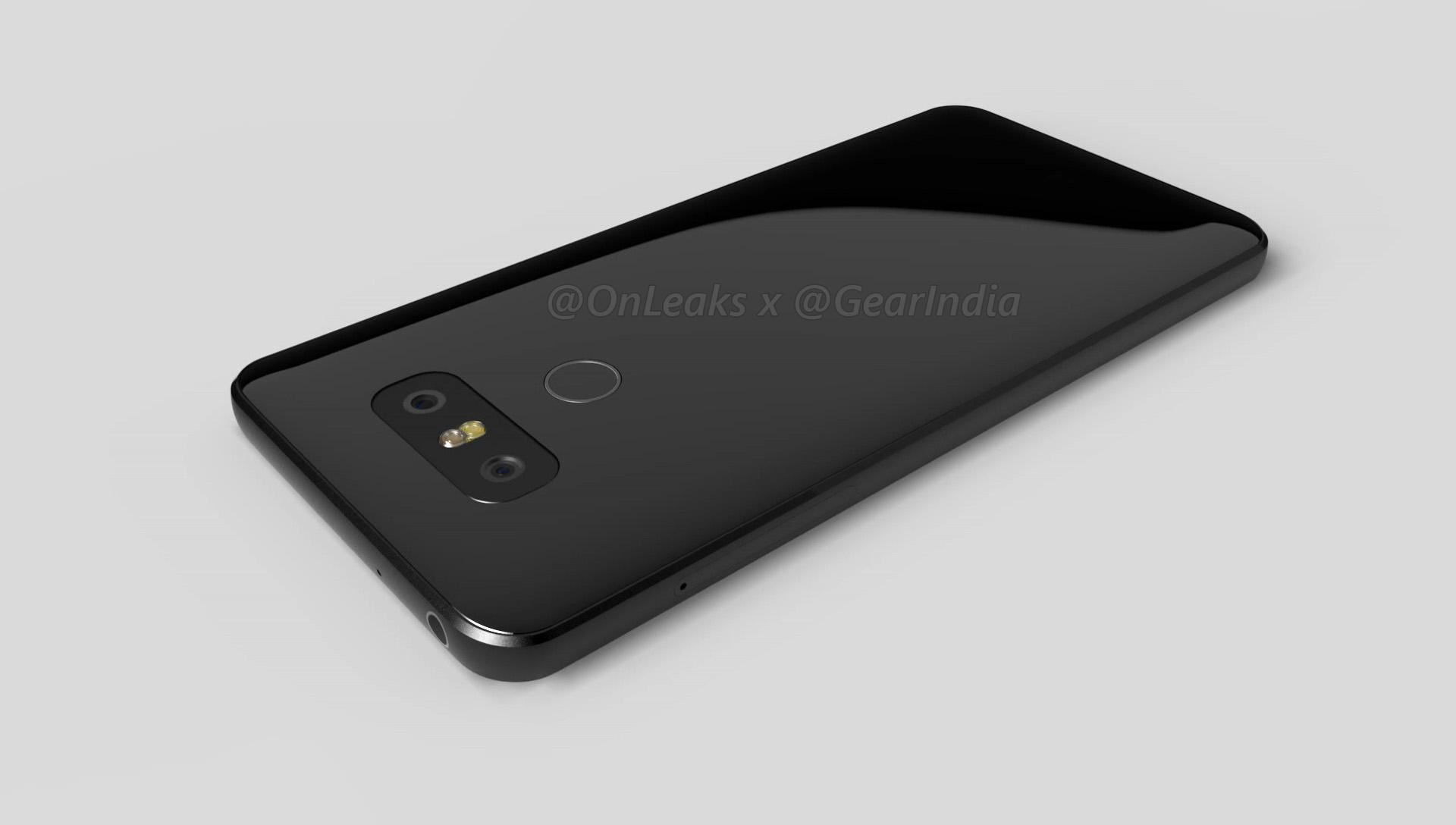 LG G6 - alcuni rendering lo mostrano in anteprima