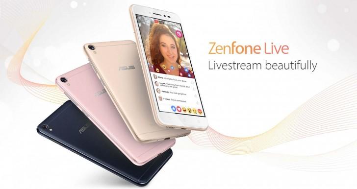Asus, ufficiale Zenfone Live, lo smartphone