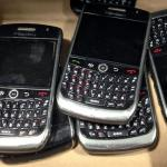 Blackberry crisi